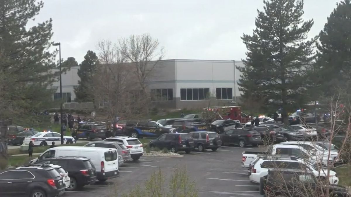 Girl, young man in custody after 1 killed, 8 injured at Colorado school