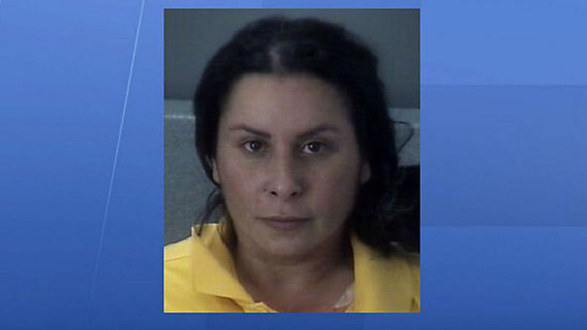 Florida woman sets fire to estranged husband's home