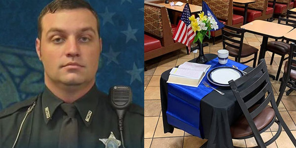 Chick-fil-A pays tribute to fallen deputy on anniversary of deadly wreck