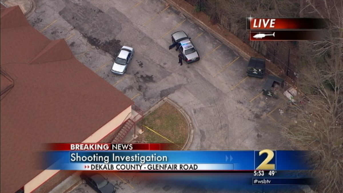 Police respond to shooting at Decatur hotel