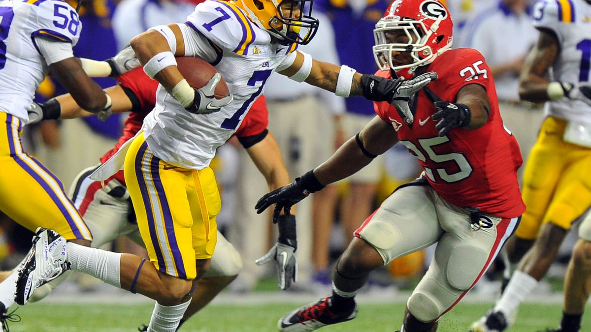 A brief history of an odd series: UGA-LSU for the SEC title