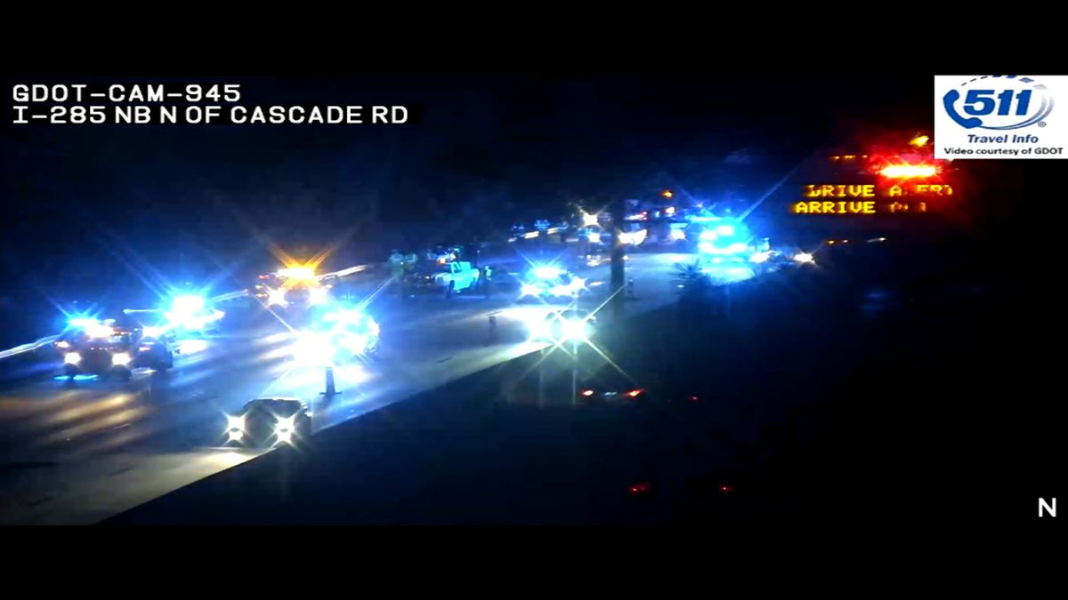 Construction worker hit, killed by driver on Interstate 285