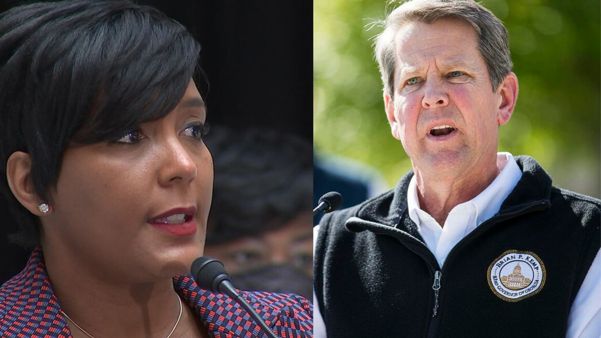 Governor sues Atlanta mayor, city council over mask mandate