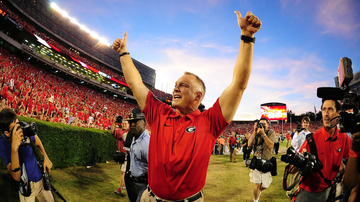 Former Georgia coach Mark Richt recovering from heart attack