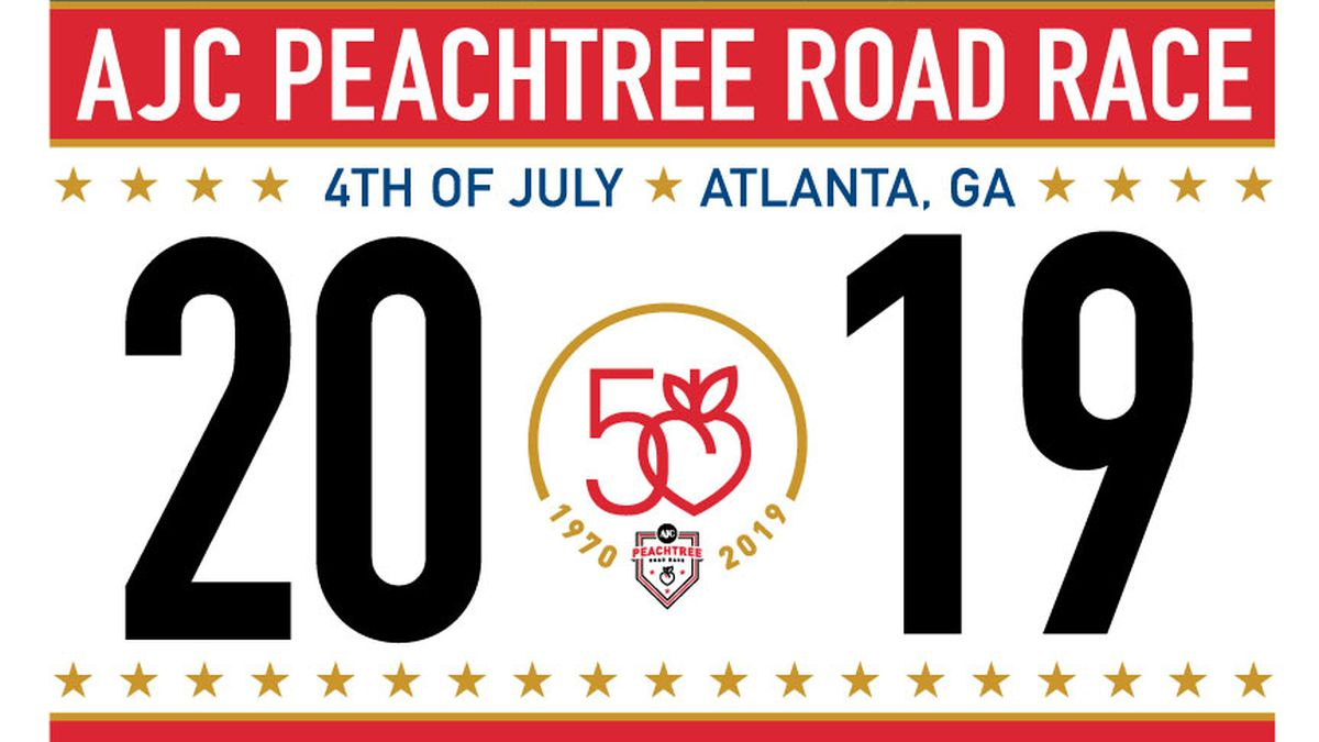 Which celebrity design should be on 2019 Peachtree Road Race T-shirt?