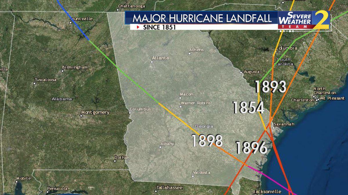 It's been 120 years since Georgia had a major hurricane like Michael