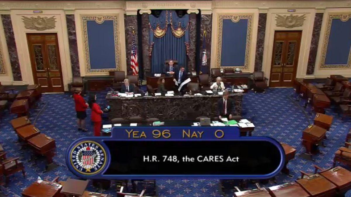 Senate approves $2 trillion Coronavirus rescue package