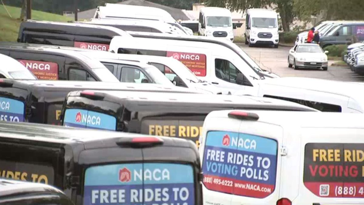 Need a ride to the polls? This organization is offering free rides in 9 metro Atlanta counties