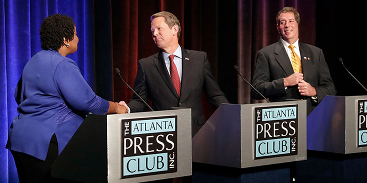 In Georgia gov race, Trump's on voters' minds but not in stump speeches