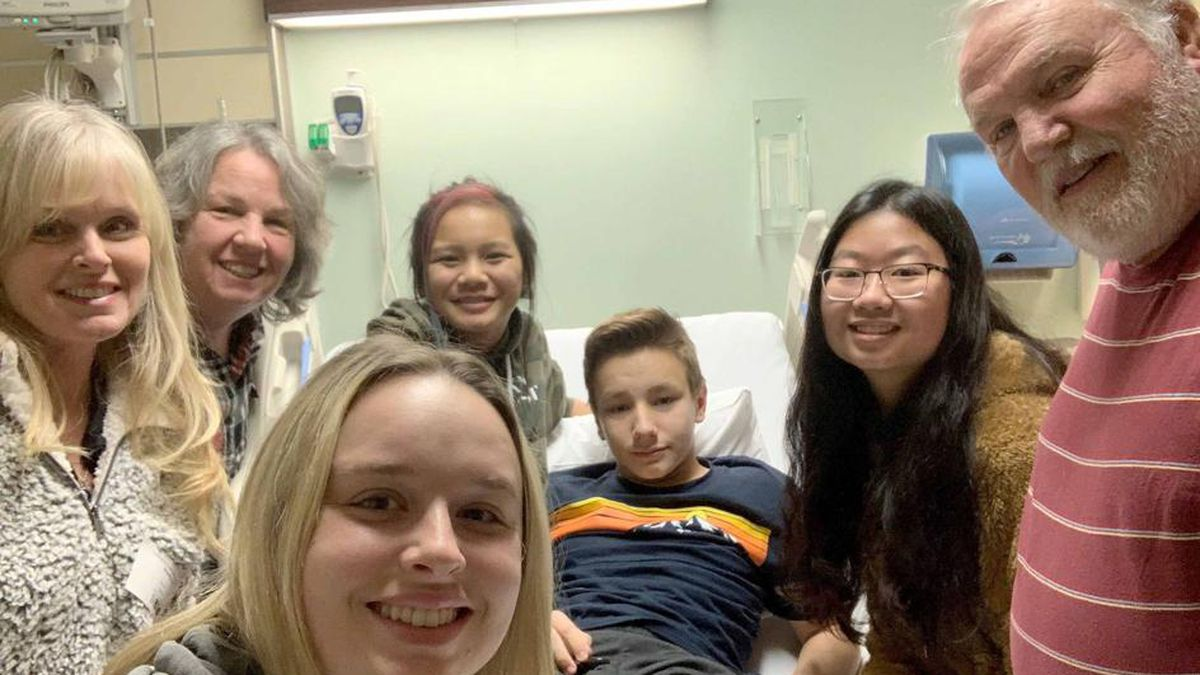 13-year-old receives new kidney 3 years after mother's murder