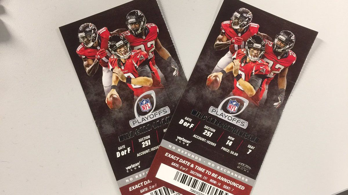 Falcons: Beware of counterfeit tickets