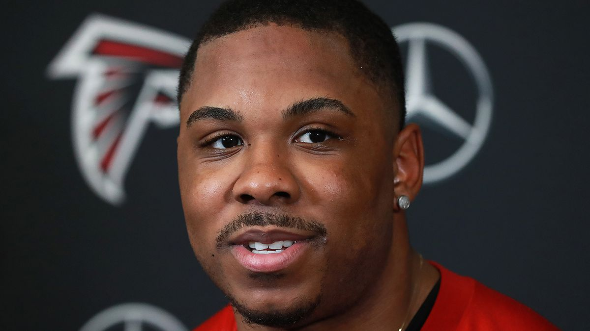 Falcons' Qadree Ollison able to forgive person who murdered his brother