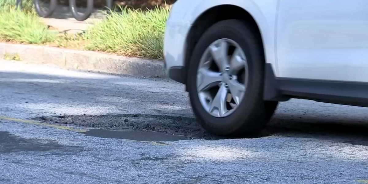 Here's what to do if an Atlanta road damages your car