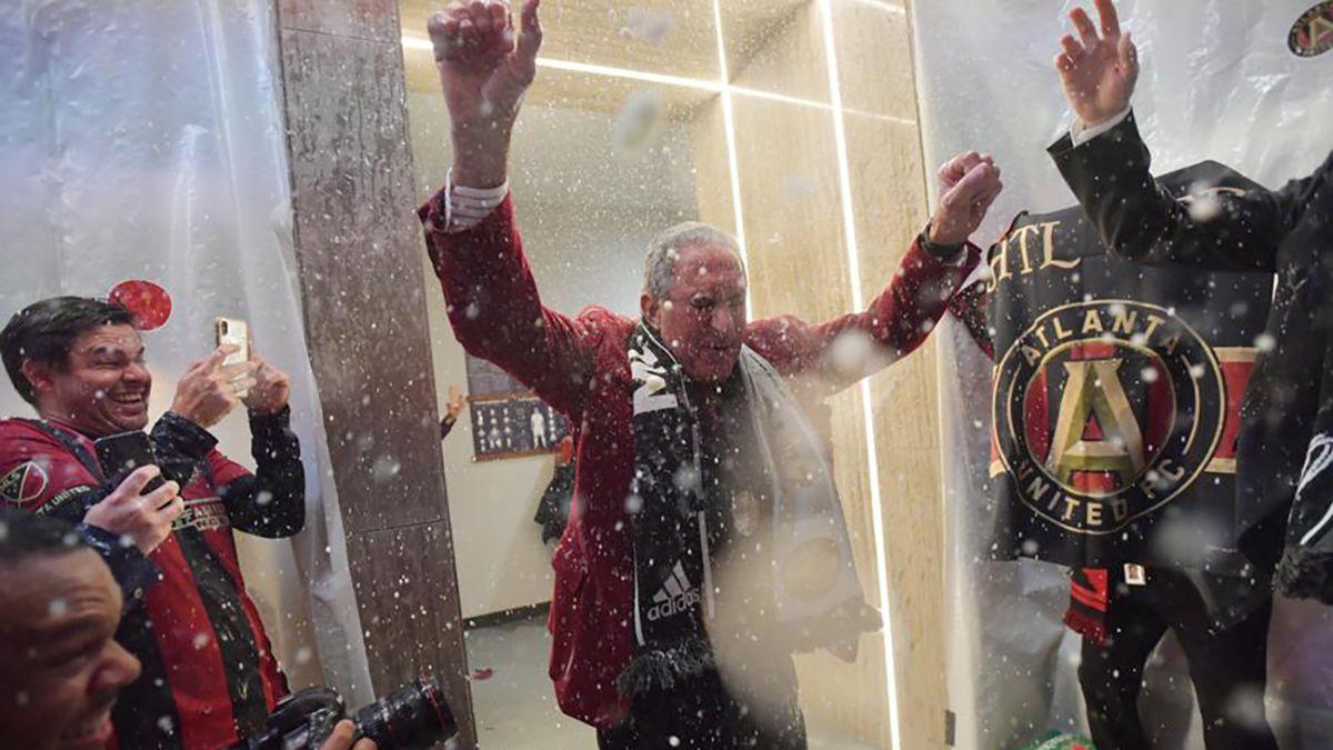 Atlanta United's victory Arthur Blank's crowning sports moment - so far