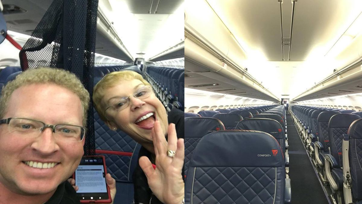 Atlanta man boards flight, discovers 'I am the only person on this plane'