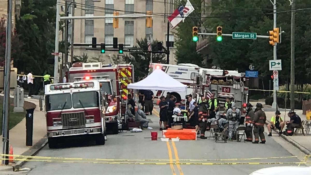 40 children taken to hospital after chemical spill at YMCA