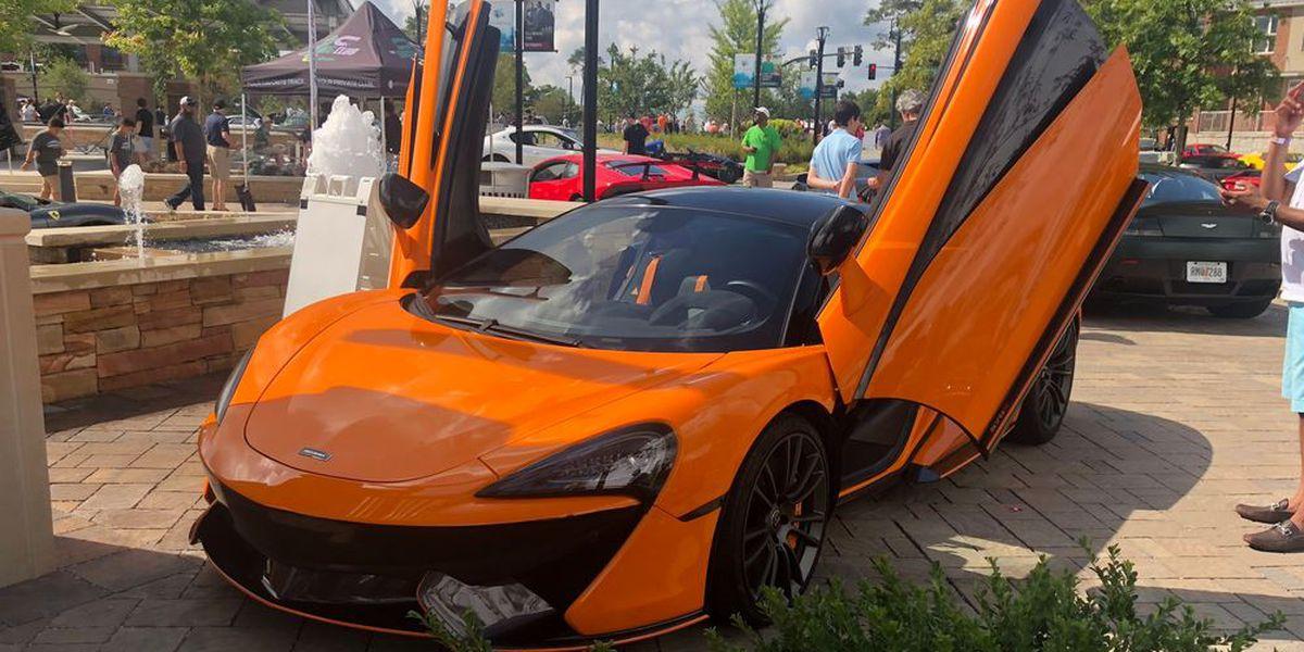Exotic car showcase returns to Sandy Springs