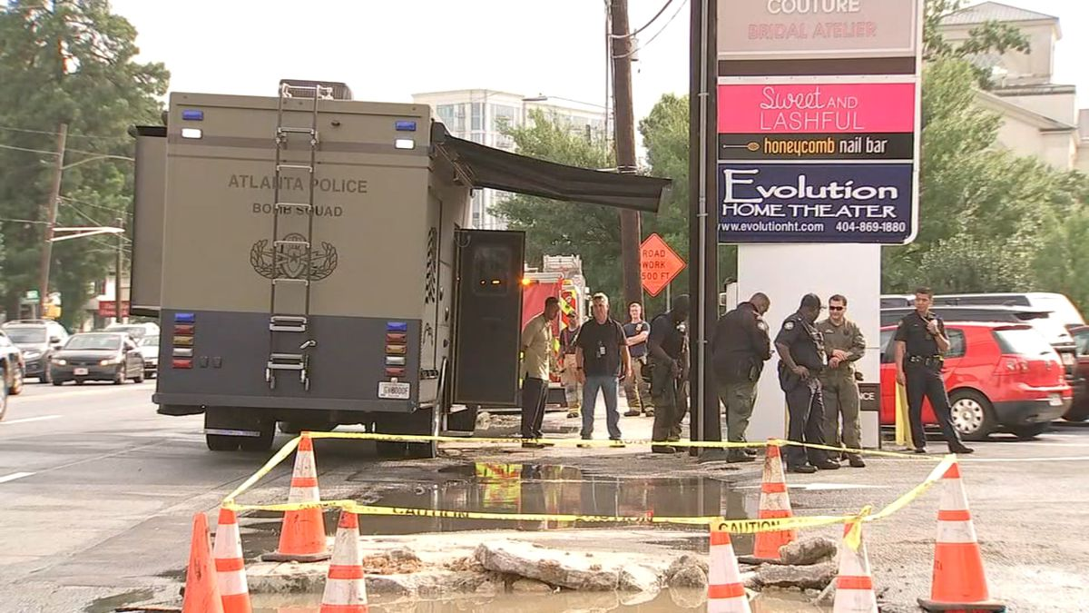 All clear given after possible grenade found in rental car in Buckhead