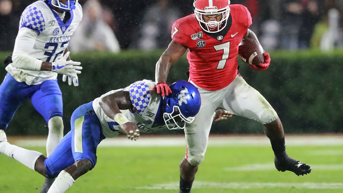 No. 10 Georgia Bulldogs shut out Kentucky