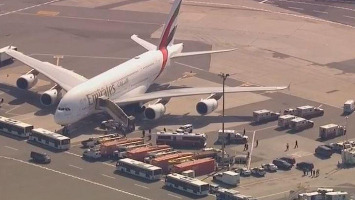 Plane carrying sick passengers quarantined at JFK
