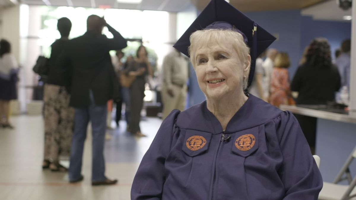 80-year-old earns degree decades after putting education on hold for her family
