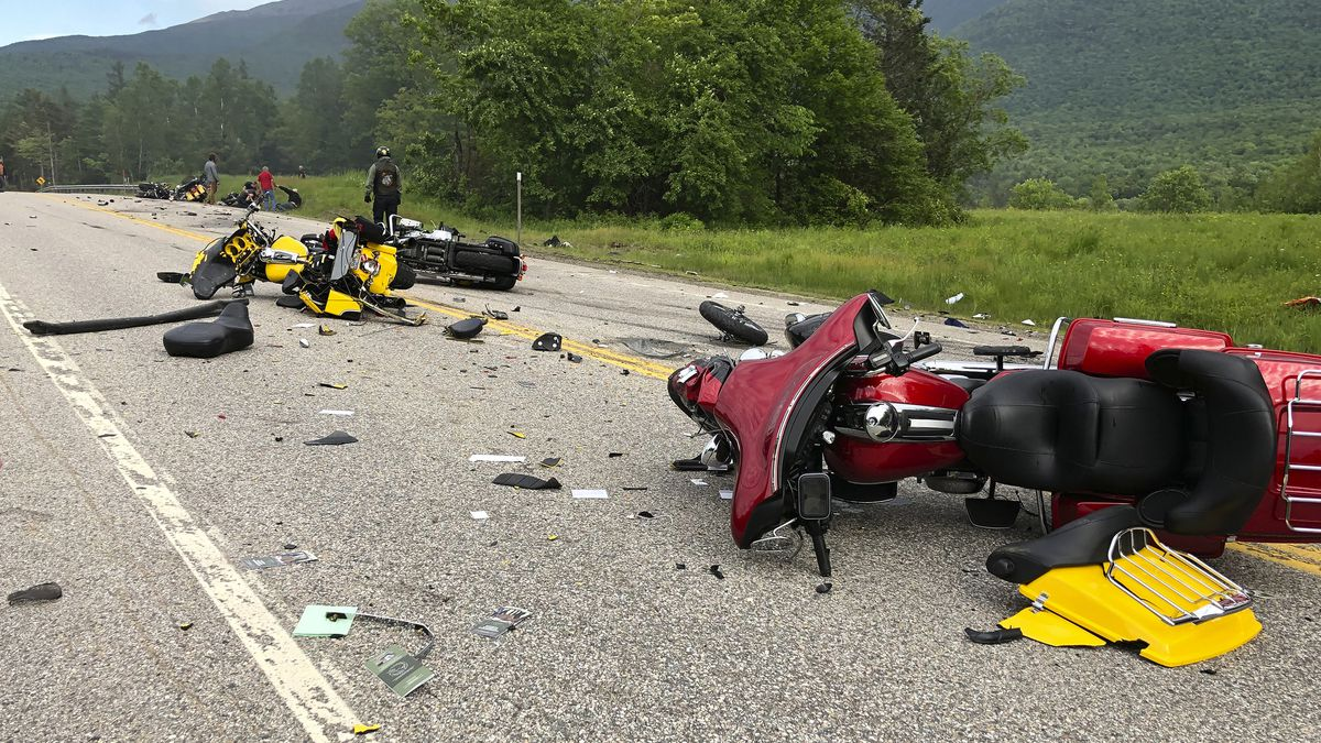 Driver who plowed into motorcyclists in New Hampshire charged in all 7 deaths