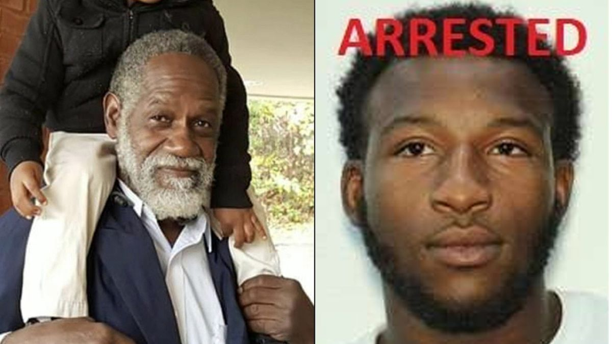 1 of 3 suspects wanted in grandfather's murder at gas station turns himself in