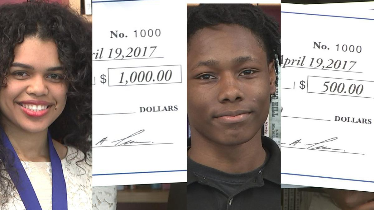 2 top students at this Atlanta school were homeless -- and they still got scholarships