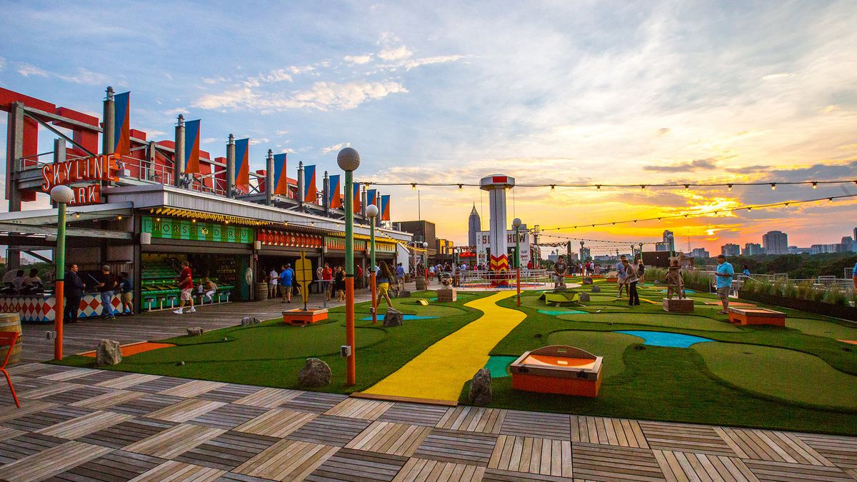 Celebrate summer with carnival games, movies on the roof