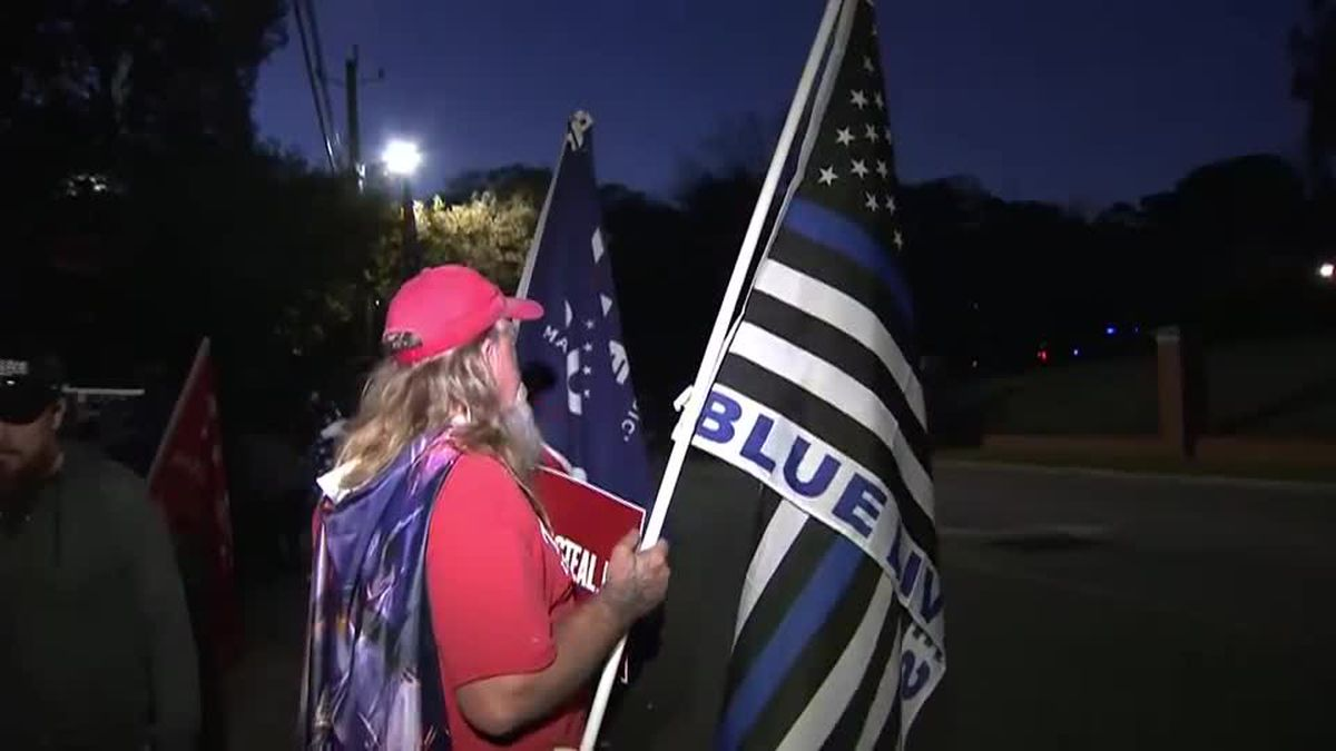 Trump supporters gather for 'Stop the Steal' rallies outside Capitol, Governor's mansion