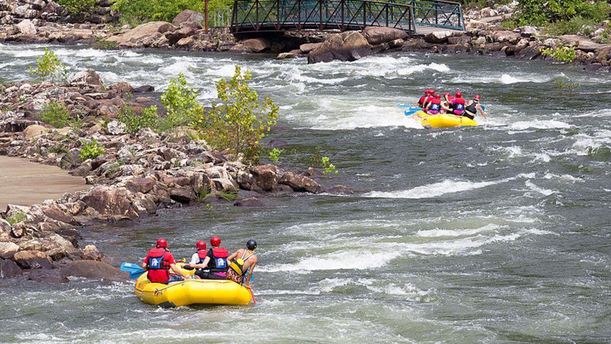 Here S Where To Go Whitewater Rafting Near Atlanta