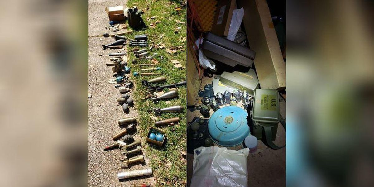 Grenades discovered in DeKalb home after suicide call, police say