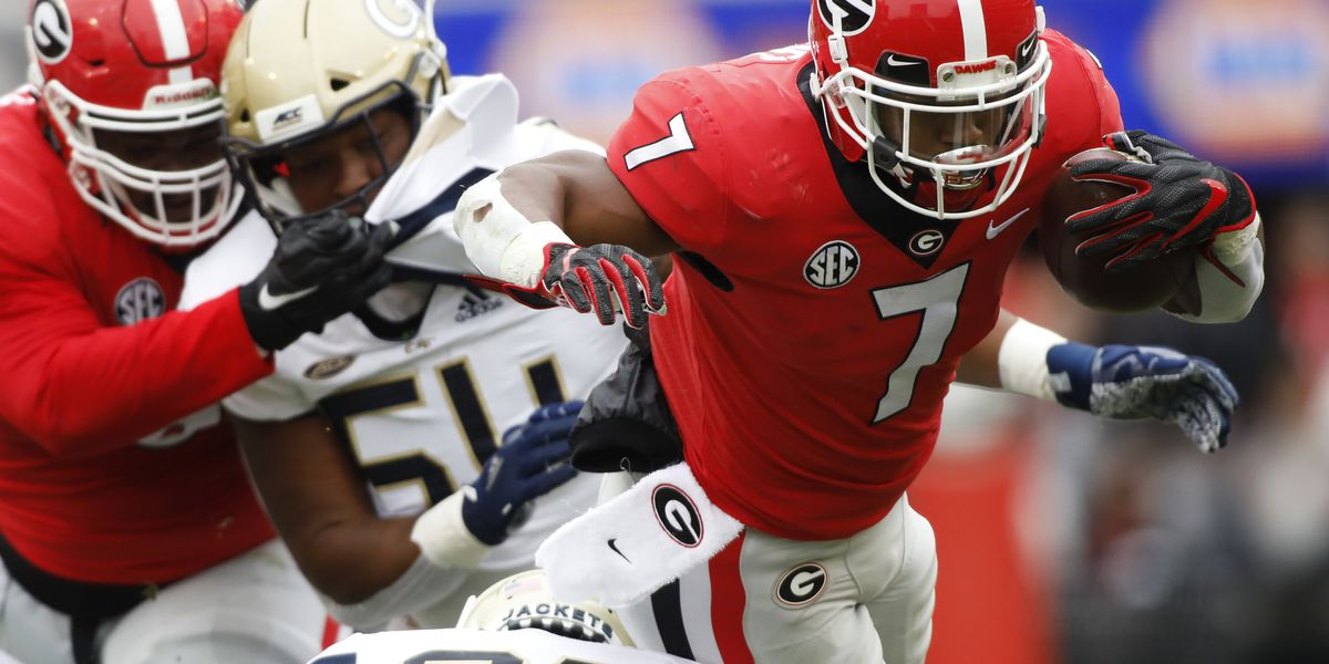 Watch Georgia-Georgia Tech rivalry game LIVE on Channel 2 this weekend